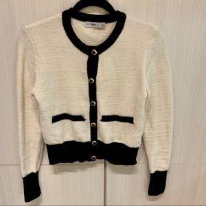 Chanel-style Zara Sweater